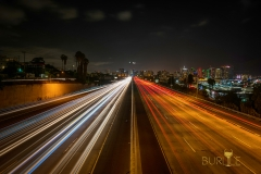 San Diego Airplane Over Night Traffic