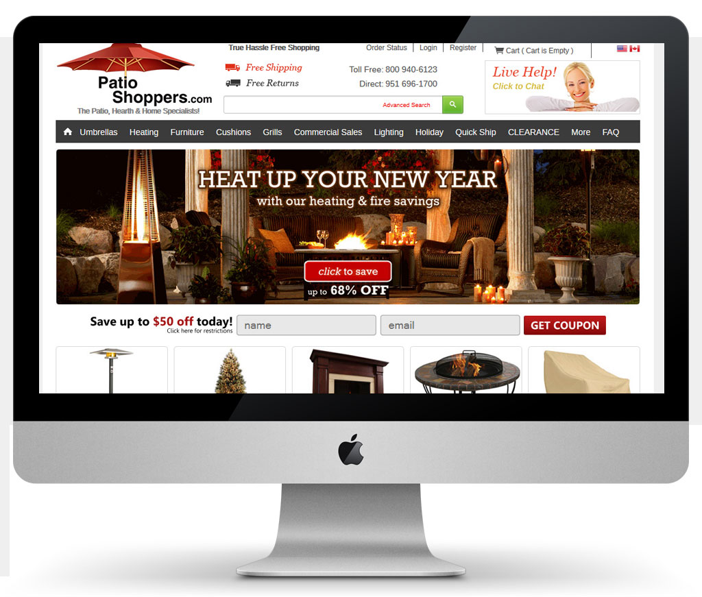 Affordable San Diego Web Design Company | Patio Shoppers   Affordable San  Diego Web Design Company
